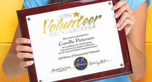 Five Low Cost Volunteer Gift Ideas
