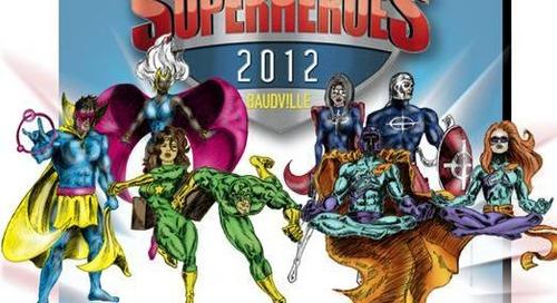 Baudville's Customer Service Week Theme Celebrated Service Superheroes