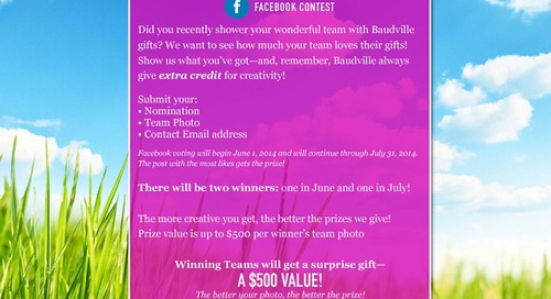 Show Us What You've Got and Win!