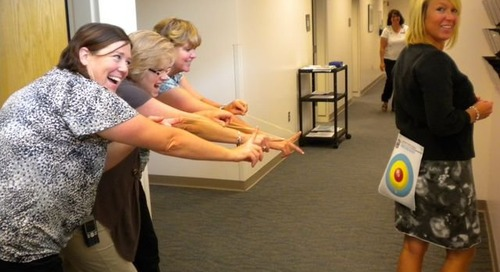 Baudville Games Finale: Office Olympics were a Hit!