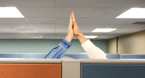 Employee Recognition Can Be as Easy as a High Five