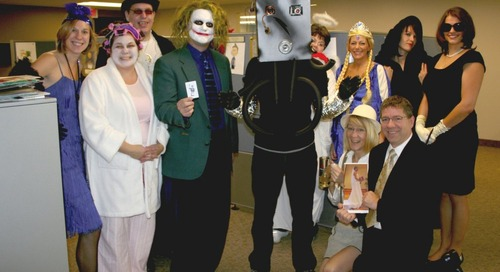 Celebrate Halloween in the Office for Positive Culture