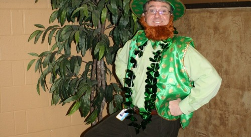 Celebrate St. Patrick's Day in the Office