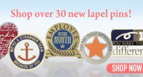 Lapel Pins Remain a Popular Employee Recognition Gift