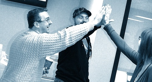 National High Five Day: Time for a Little Hoopla