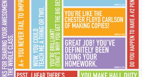 Teacher Appreciation Print-n-Posts