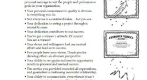 Sample Employee Recognition Messages for Every Recognition Occasion