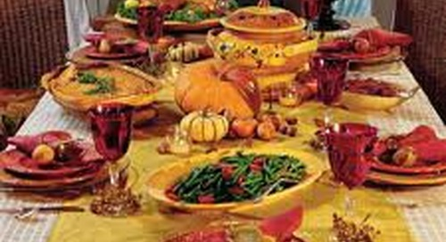 Top 5 Ways to say Thank You at Thanksgiving
