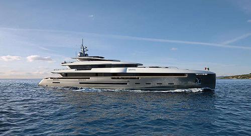 Mondo Marine's M57 Eidos yacht concept