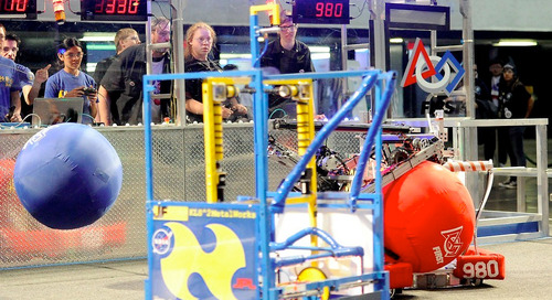 Teaching engineering from scratch through the FIRST Robotics Competition