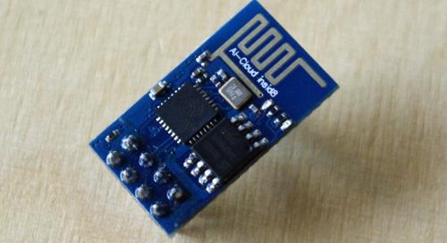 The amazing ESP8266 Wi-Fi module