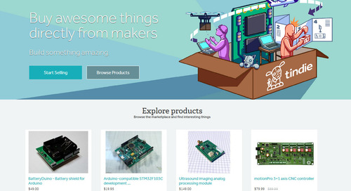 Sell your MakerPro products on Tindie