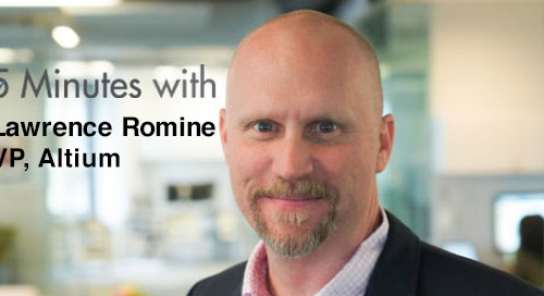 Five Minutes With…Lawrence Romine, VP, Altium