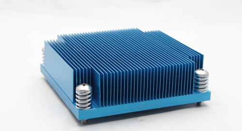 Advanced Thermal Solutions Releases Heat Sinks for High Component Density PCBs