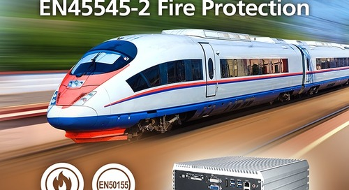 Vecow IVH-9204MX ICY Fanless System Gets Full EN50155 and EN45545-2 Fire Protection Certificate