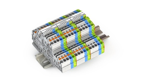 WAGO Expands TOPJOB S Terminal Blocks with New 2202 Series