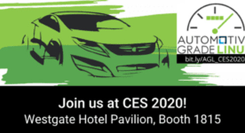 Automotive Grade Linux Booth at CES 2020 Showcases 2020 Mazda CX-30, 2020 Toyota RAV4, and 20+ Open Source AGL-Based Demos