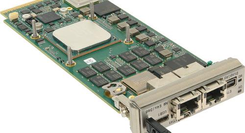 Concurrent Releases High-Performance AdvancedMC Processor Board