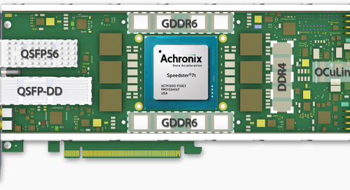 Achronix Super-Speed FPGA Find a Home on Bittware Board