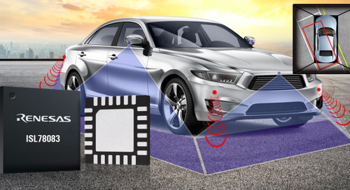 Renesas Electronics Simplifies Power Supply Design for Automotive Surround View Camera Systems