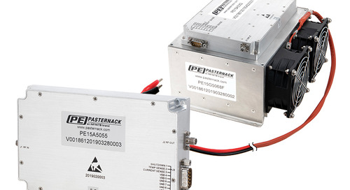 Pasternack Launches New Class AB High Power Amplifiers with Optional Heatsinks