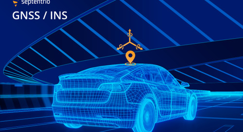 Septentrio and Analog Devices Collaborate to Create Top-Performance GNSS/INS Solutions