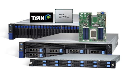 TYAN Launches AMD EPYC™ 7002 Series Processor-Based HPC and Storage Server Platforms at SC19
