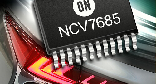 ON Semiconductor Launches Automotive LED Drivers and Controllers for Advanced Vehicle Lighting Applications