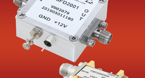 Fairview Microwave Debuts Frequency Dividers with SMA Connectorized Packages