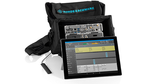 5G Site Testing Solution from Rohde & Schwarz for gNodeB site acceptance, troubleshooting