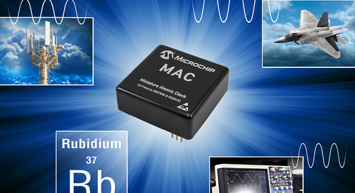 Microchip Announces New Next-Generation Miniaturized Rubidium Atomic Clock