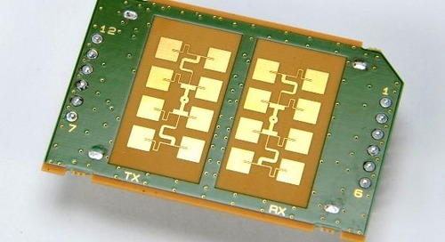 Fujitsu Releases 3-Channel, 24GHz Doppler Radar Sensor Module