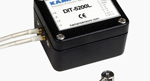 Kaman Measuring Highlights DIT-5200L Noncontact Differential Measuring System