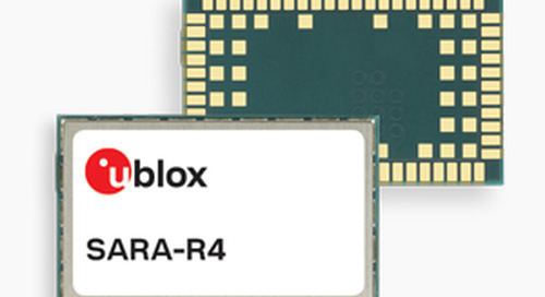 u-blox's Dual-Mode Cellular Module for Industrial IoT Certified by Telstra