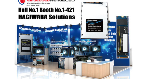 Hagiwara Solutions Co. Will Be Exhibiting Its New and Innovative Products at Embedded World 2020
