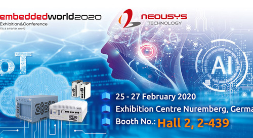 Neousys to Debut New AI Computing Solutions at Embedded World 2020