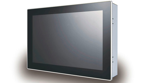 "Industrial 10.1"" Panel PC with True-Flat PCAP Touch Screen"