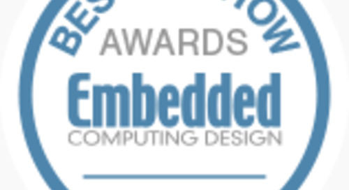 Embedded Computing Design's Best in Show at embedded world 2020