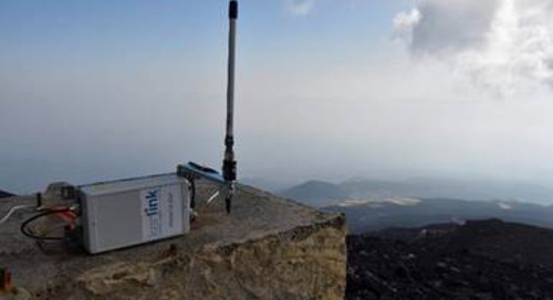Kerlink Gateway Technology Powering Internet of Things Radon-Monitoring System on Europe's Most Active Volcano, Mount Etna