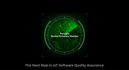 Percepio Launches DevAlert Cloud Service for Remote Monitoring and Diagnostics of Deployed IoT Devices