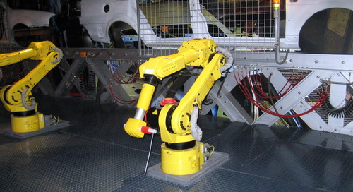 Four Types of Industrial Robots for Advanced Manufacturing