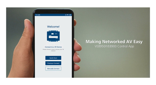 ATEN Technology Eases Networked AV with Mobile App