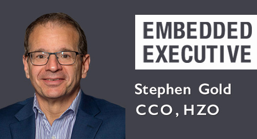 Embedded Executives: Stephen Gold, CCO, HZO