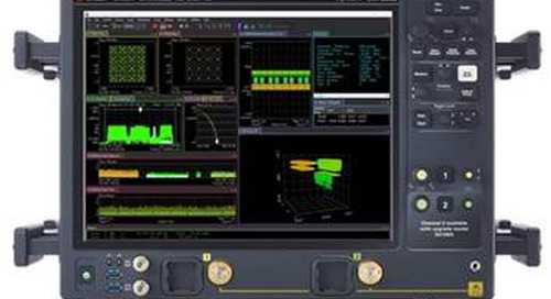 Keysight Enhances UXR Oscilloscopes to Accelerate Development of mmWave Communications
