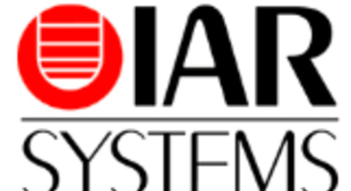 IAR, Qt Company Collaborate to Deliver Streamlined Development of UI Applications