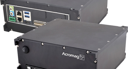 The New ARCX1100 from Acromag Features a COM Express Type 10 CPU with Four Industrial I/O Modules
