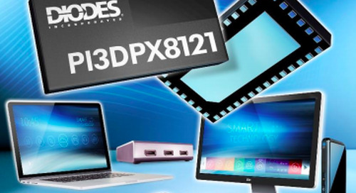 Industry's First DisplayPort 2.0 Active Switch Introduced by Diodes Incorporated