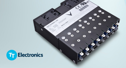 TT Electronics Debuts Vox Modular Configurable Power Supply Solutions