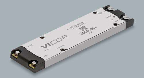 Vicor Releases DCM5614, DC-DC Converter