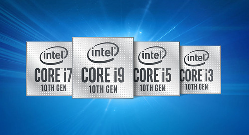 Intel Using New 10th Gen Intel® Core™ Processors